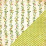 papier Bazzil Vintage Lace - Floral Stripe