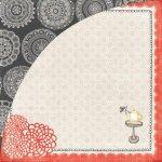 papier dwustronny Paper Cottage - Hibiscus Tea