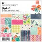zestaw 36 papierów 15x15cm - Fresh Cut