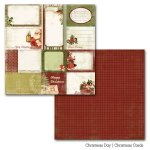 dwustronny papier Christmas Day - Christmas Cards