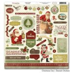 naklejki 30x30cm Christmas Day - Element Stickers