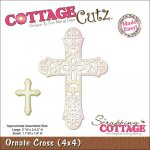 wykrojnik Cottage Cutz Ornate Cross Krzyż 10x10