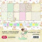 zestaw papierów 15x15cm Craft&You New Baby Born