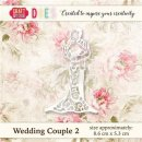 wykrojnik Craft&You Wedding Couple 2- Młoda para