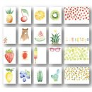 zestaw kart do Project Life 4x6- Tutti Frutti