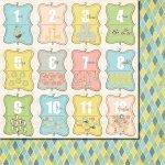 papier dwustronny Baby Mine - Cards