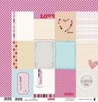 papier dwustronny LOVE -  Cards