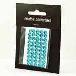 samoprzylepne kryształki - 5mm niebieskie