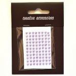 samoprzylepne perełki - 3mm liliowe