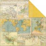 papier dwustronny Heidi Swapp - Worldwide
