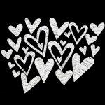 chipboardy Heidi Swapp - Hearts