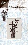 wykrojnik Joy! sylwetki roślin z kwiatami