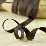 wstążeczka bawełniania gorzka czekolada - 1mb