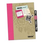 K & Co. Journal Folio Smash Pretty Pink