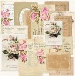 zestaw kart ephemera- kolekcja  Dom Róż