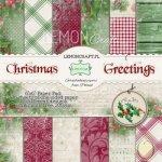 Bloczek papierów 15x15 - Świąteczne Życzenia