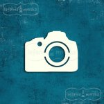 aparaty fotograficzne z tekturki 5szt.