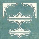 ornamenty i narożniki wewnętrzne 6szt.