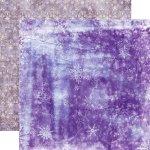 dwustronny papier Zimowa Bajka - Śnieżna Zamieć