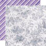 dwustronny papier Zimowa Bajka - Zimowe Okienko