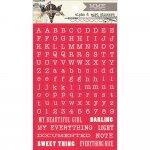 8 arkuszy naklejek MME z alfabetem Up & Away