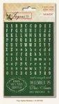6 arkuszy naklejek MME z alfabetem Joyous