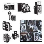 pudełko Die-Cuts Maya Road Cameras Aparaty czarne