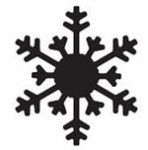 dziurkacz Martha Stewart Med Arctic Snowflake