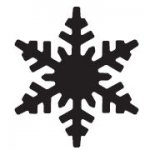 dziurkacz Martha Stewart Med Alpine Snowflake