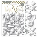 chipboardy Luxe - Silver Chipboard Arrows