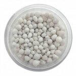 ozdobne kulki 3D gruboziarniste -100ml  białe