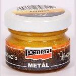 pasta woskowa Pentart - złota 20 ml