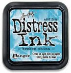 tusz Distress Broken China (turkusowy) Tim Holtz