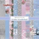 zestaw 24 papierów 15x15 Winter Wonderland
