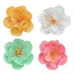kwiaty 5 cm materiałowe Kid's Fun 4 kolory