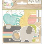 die-cuts Simple Stories Hello Baby
