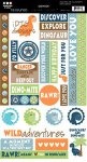 naklejki z tekstami Textured Chitchat Stickers