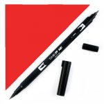 marker do stempli Tombow Dual Brush - Warm Red