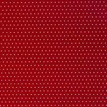 karton 300gsm czerwony w białe groszki 24x34cm