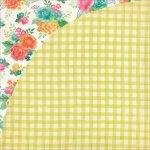 papier dwustronny Fresh Cut - Gardenia Row