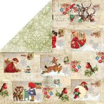 dwustronny papier Craft&You North Pole 01