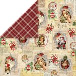 dwustronny papier Craft&You North Pole 03