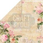 dwustronny papier Craft&You Vintage Time 2