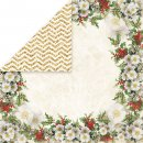 dwustronny papier Craft&You White Christmas 01