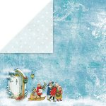 dwustronny papier Craft&You White Christmas 03