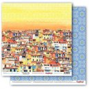 papier Mediterranean Dreams- Colourful City