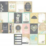 elementy do pocięcia Hello Baby - Journaling Card