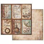 papier do scrapbookingu- Stamperia- Steampunk