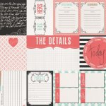 papier dwustronny Save the Date - The Details