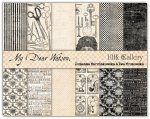 zestaw dwustronnych papierów UHK - My Dear Watson